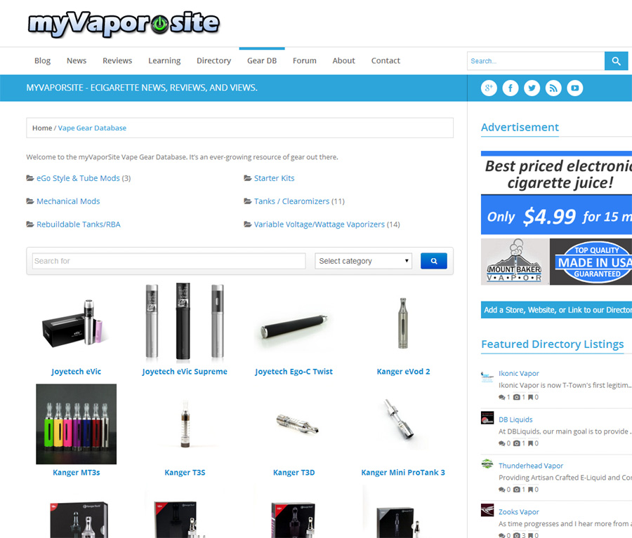 Our Vape Gear Database Needs You!