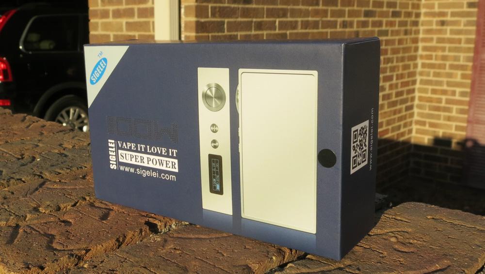 Sigelei 100 Watt Box Mod 1st Impressions