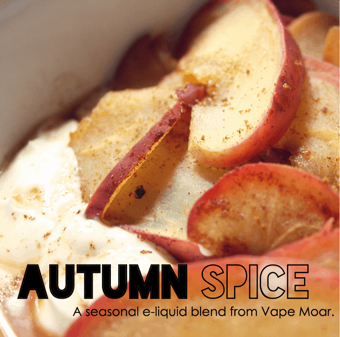 Autumn Spice E-liquid By Vape Moar Review