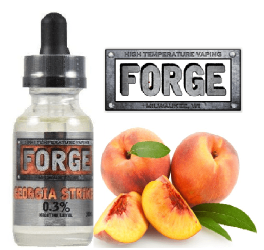 Forge Vapor Georgia Striker Vape Liquid Review