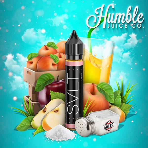 Apple Jay Jay High Nicsalt E-liquid by SVLT Vapor Review