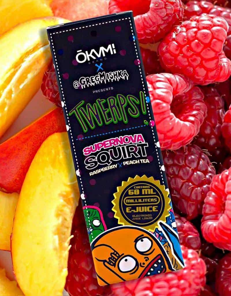 Twerps Supernova Squirt e-Juice by Okami E-liquid Review