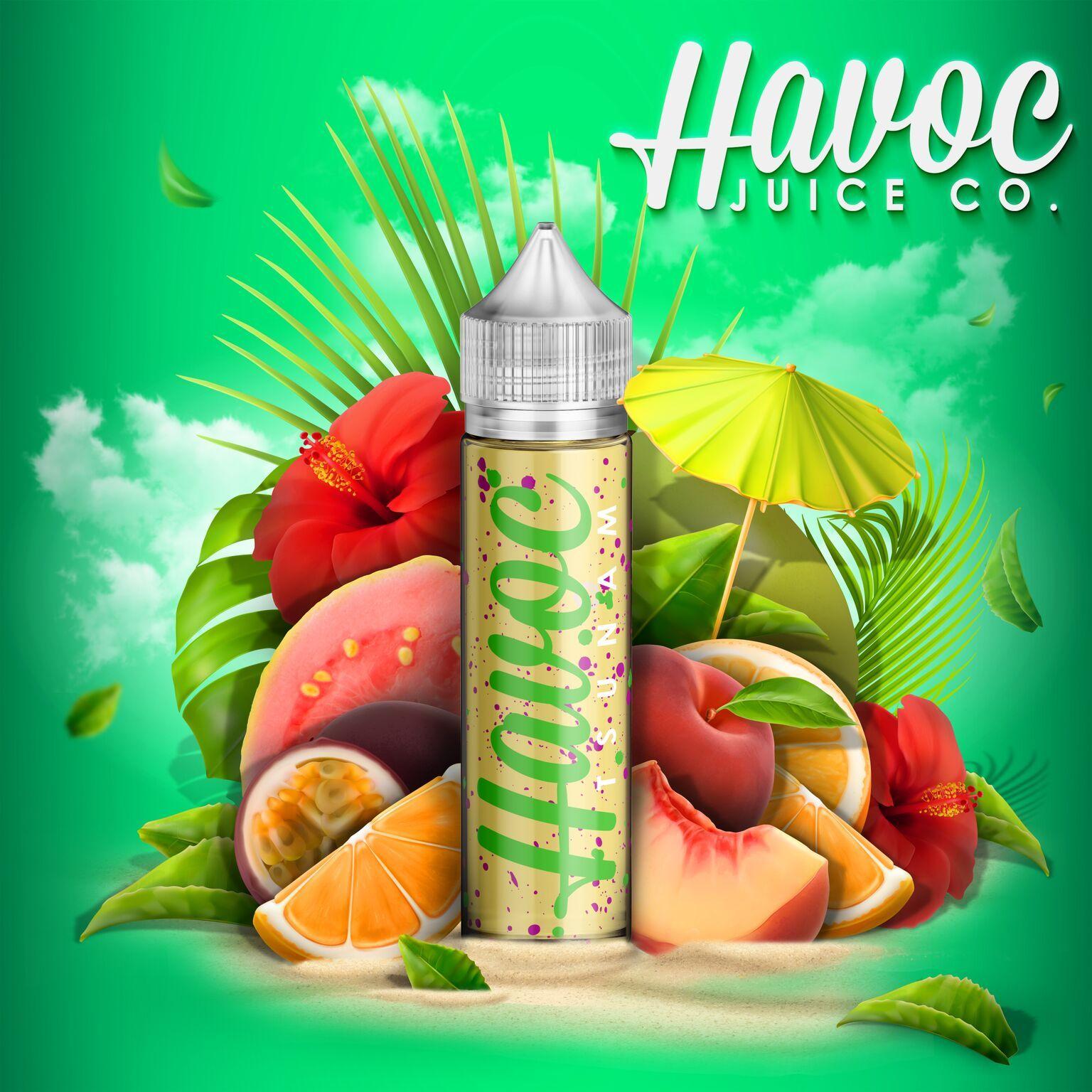 Tsunami E-liquid by Humble Juice Co. Review