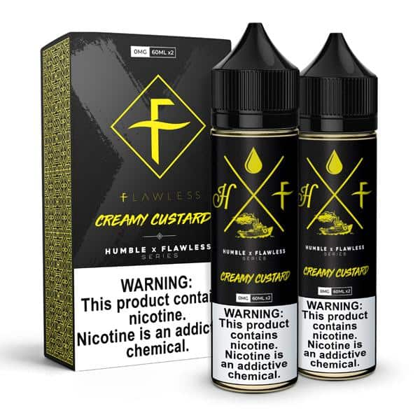 Creamy Custard E-Liquid by Humble x Flawless Review