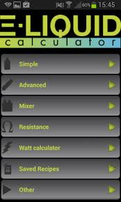 E-liquid Calculator App – The Vaper's App