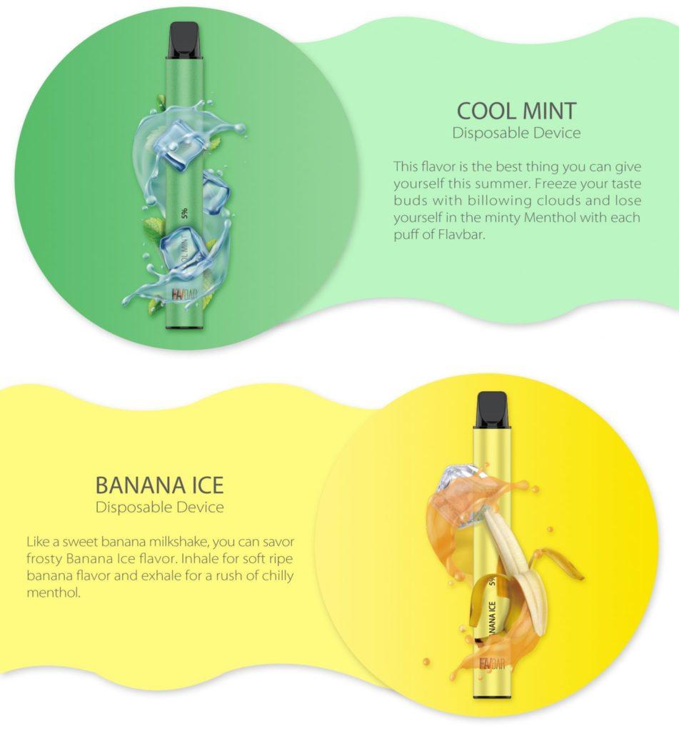 Banana Ice Flavbar V2 Disposable Pod Pen by FLAVBAR Review